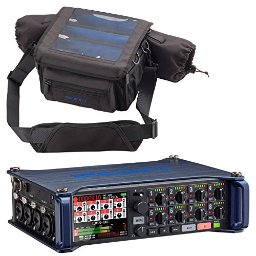 Zoom F8 MultiTrack Field Recorder & Custom Protective Case - Bundle by Zoom