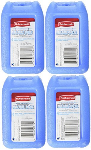 Blue Ice Mini Reusable Ice Pack, Pack of 4