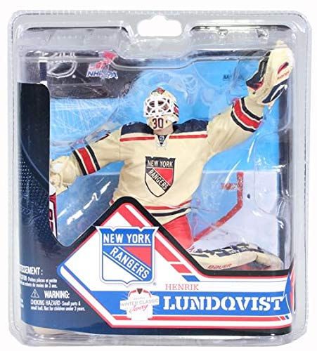 York New Goalie Rangers (McFarlane NHL Series 32 Henrik Lundqvist New York Rangers)