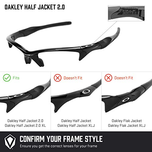 Oakley Pour Jacket De Titanium Half Plusieurs 2 0 MirrorshieldPolarisés — Rechange Verres Options v8nw0PyNmO