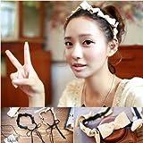 usongs imports hair accessories sweet small fresh wind take lead six bow hair bands hair bands headdress women girls