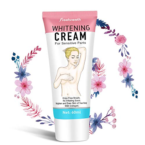 Whitening Cream, Skin Lightening Cream For Armpit, Knees & Sensitive Parts Deodorant - 100% Safe Formula - Whitening Uneven Colors Tone - Smooth & Moisturizing - For All Skin Types (Best Cream For Uneven Skin)
