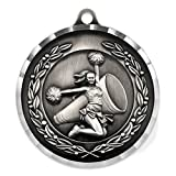 Cheer Award Sports Bulk Medal - Silver