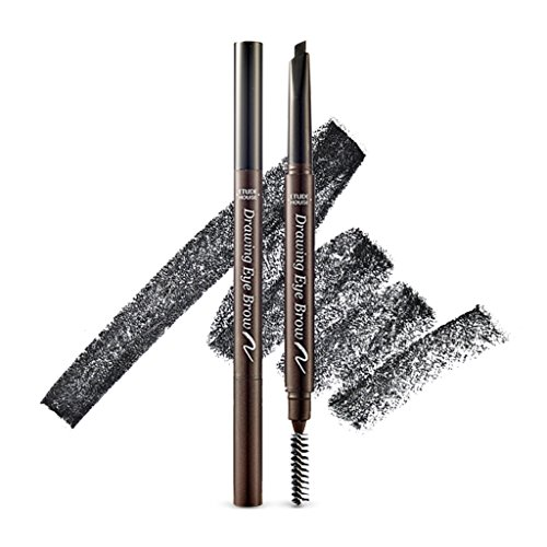 etude house drawing eyebrow black - 1