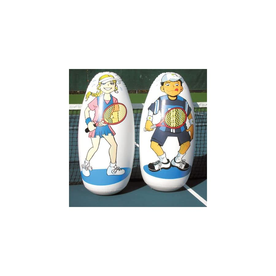 Tennis Inflatable Knockdown Targets Set of 2