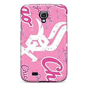 Galaxy S4 Case Cover - Slim Fit Tpu Protector Shock Absorbent Case (chicago White Sox)