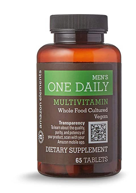Amazon Elements vegan multivitamin for men