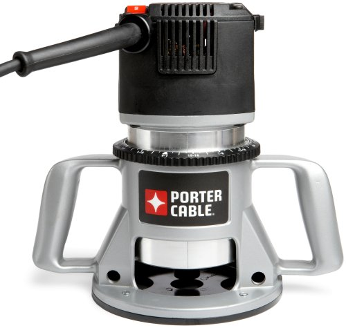 PORTER-CABLE Router, Fixed Base, 5-Speed, 3-1/4-HP (7518)