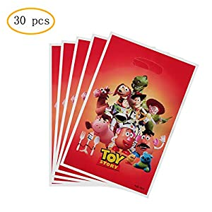30 Pss Toy Story Party Gift Bags, Toy Story Gift Bags Party Supplies Birthday Decoration Gift Bags Well for Kids