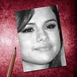 Seasons SELENA GOMEZ - ACEO Sketch Card (Signed by the Artist) #js004