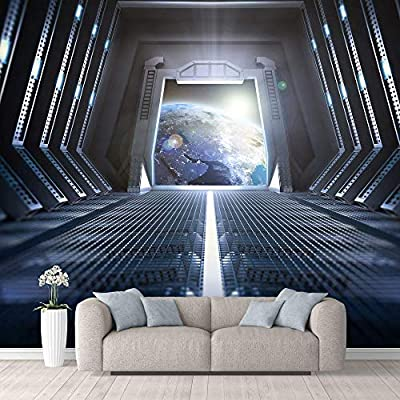 Marvelous Picture, Wall Mural Views from The Space Station Removable, With a Professional Touch