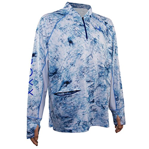 Wroxx Performance Fishing Pure Wild Long Sleeve Shirt. Comes Packaged in a Free Tackle Box 3X For Sale