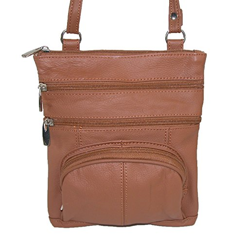 Crossbody Ctm Multi Pocket Leather Noir Femmes qPE8Erw