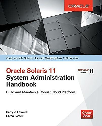 amazon com oracle solaris 11 2 system administration handbook rh amazon com Oracle Solaris 11 Documentation oracle solaris 11 system administration student guide
