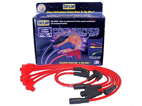 Taylor Cable 74235 Spiro-Pro Red Spark Plug Wire Set