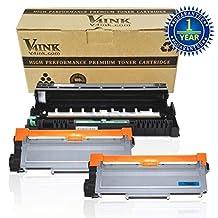 V4INK ® DR630 Drum Unit and TN660 TN630 Toner cartridge Compatible For Brother MFC-L2700DW L2720DW L2740DW HL-L2340DW L2300D L2360DW L2380DW L2500D DCP-L2520DW L2540DW Printer Series, 1 Drum and 2 Cartridge
