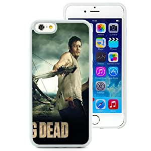 Unique TPU Phone Case The Walking Dead - Daryl iPhone 6 4.7 inch Wallpaper in White