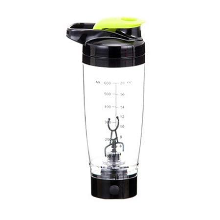 Muzi Botella batidora de proteínas eléctrica, con batería de ...