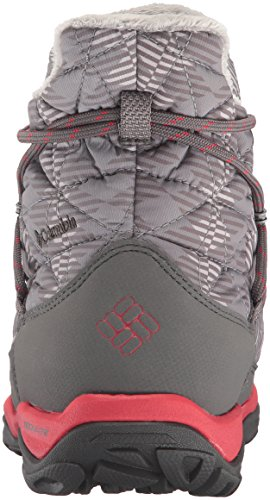 Columbia Women's Loveland Shorty Omni-Heat Print Snow Boot, Light Grey/Burnt Henna, 7.5 B US by Columbia (Image #2)
