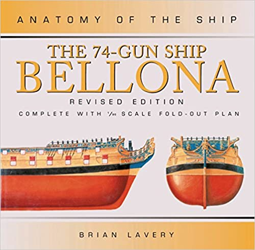 Amazon The 74 Gun Ship Bellona Anatomy Of The Ship