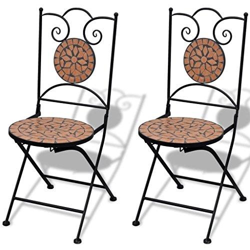 Roderick Irving Mosaico Bistro Juego Sillas 2 sillas Jardín ...
