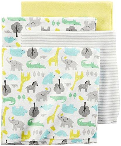 Carter's® Baby 4-Pack Safari Receiving Blankets