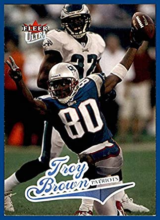 2004 Ultra  177 Troy Brown NEW ENGLAND PATRIOTS MARSHALL at Amazon s Sports  Collectibles Store 3c0c40bcd