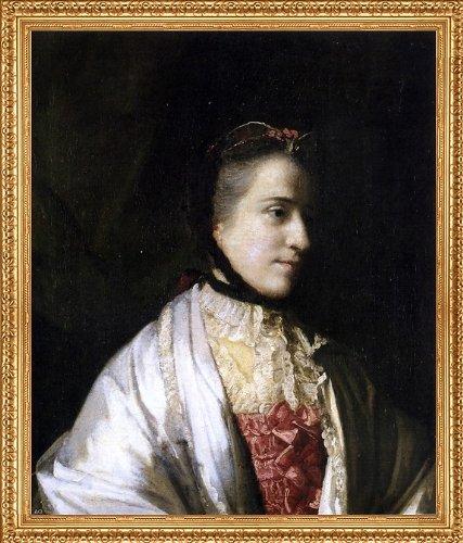 Emma Antique White Finish - Sir Joshua Reynolds Portrait of Emma Countess of Mount Edgcumbe - 20.05