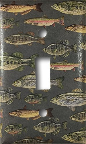Fish Decorative Light Switch Cover Wall Plate