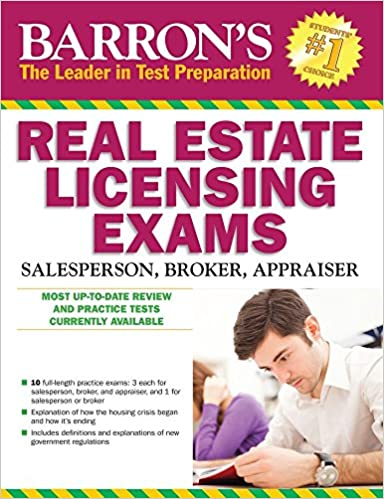 Amazon barrons real estate licensing exams 10th edition barrons real estate licensing exams 10th edition barrons real estate licensing exams salesperson broker appraiser 10th edition fandeluxe Image collections