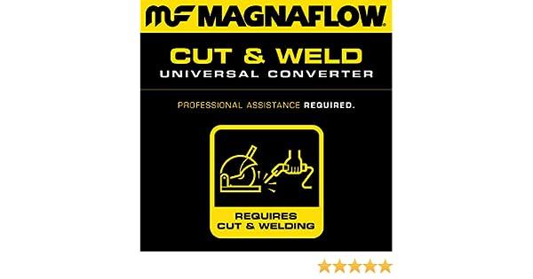 MagnaFlow 443109 Conv Univ 3.00 CA Spun
