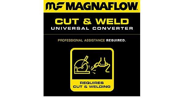"99355HM Magnaflow Performance 49 State Universal Catalytic Converter 2.25/"""