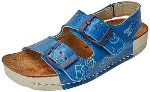 Art Kids Boys' A437s Star Reef/I Play Open Toe Sandals, Blue (Reef), 12.5 UK ()