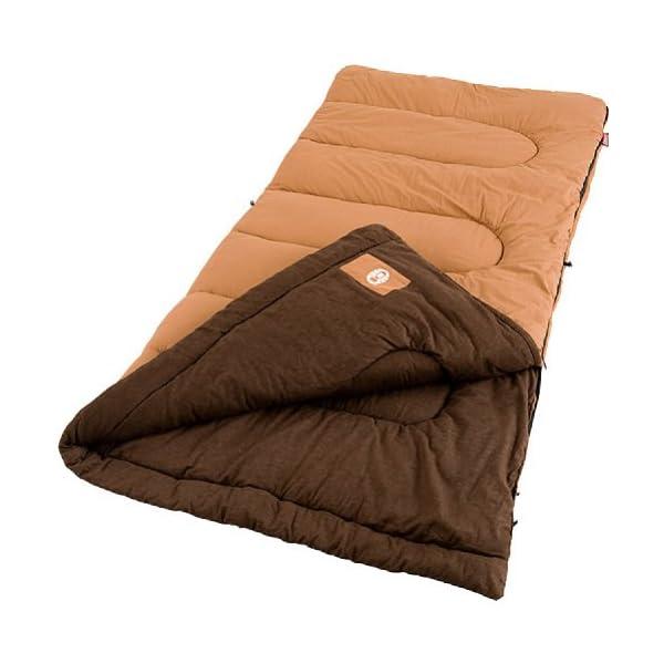 Coleman Dunnock Cold Weather Adult Sleeping Bag 3
