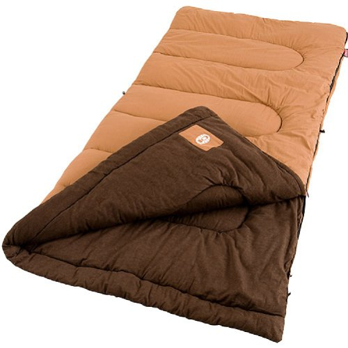 Coleman Dunnock Cold Weather Adult Sleeping Bag, Big Tall by Coleman