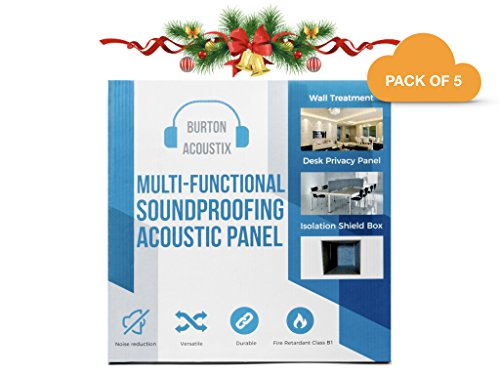 | BA SERIES 9 | Uber Dense Acoustic Panels | Great for Soundproofing, Acoustic Treatment, Sound Treatment, Sound Absorbing | 12