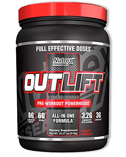 Nutrex Research Outlift Pre Workout Supplement