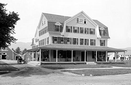 1900-1910 Hotel Randall, North Conway, NH Vintage Photograph 11
