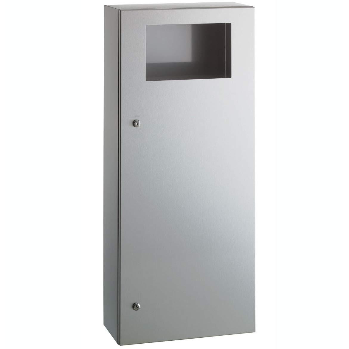 Amazon.com: Bobrick B-35649 - Cubo de basura (45 L ...