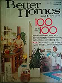 Better Homes And Gardens Magazine July 1976 Better Homes
