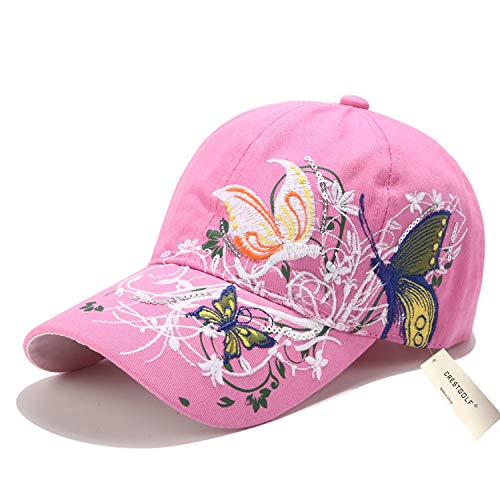 Embroidered Print Hat - 5
