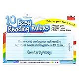 Luigi's 10 x Dyslexia Reading Strips with Coloured