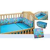 Swayam Kids N More Digitally Printed Mercerised Cotton Standard Cot Bumper - Multicolor