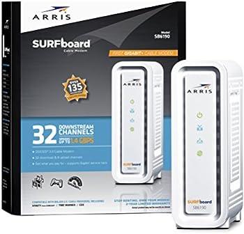 Arris SB6190 SURFboard DOCSIS 3.0 Cable Modem