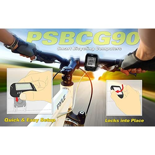 Pyle Cyclo mètre multi fonction numérique LED Orange  6SyCg1506580 ... 5e1d0d111e03