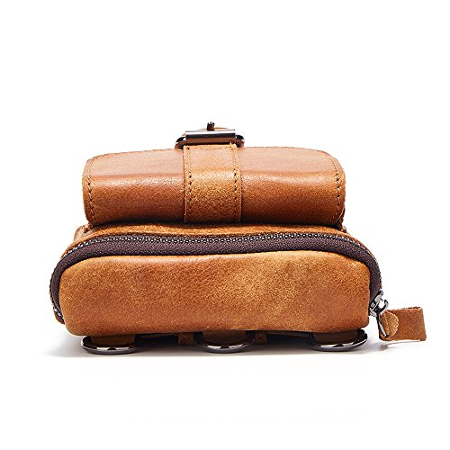 Joyir Hombre Brown Inch Size 10d 42h Bandolera Color X 32l Bolso 1xHr1wO