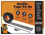 "Gorilla 6100116 6100101-2 Duct Tape to-Go, 1"" x"