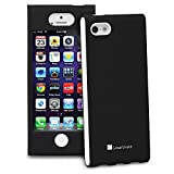 iPhone SE Case, GreatShield FUSION Series Shock-Proof SLIM Case for Apple iPhone SE / 5S / 5 (Black)