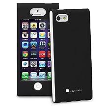 iPhone SE Case, GreatShield FUSION Series Shock-Proof SLIM Case for Apple iPhone SE / 5S / 5 (Black)