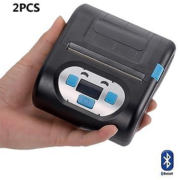 ZUKN Impresora Térmica De Etiquetas Inalámbrica Bluetooth ...